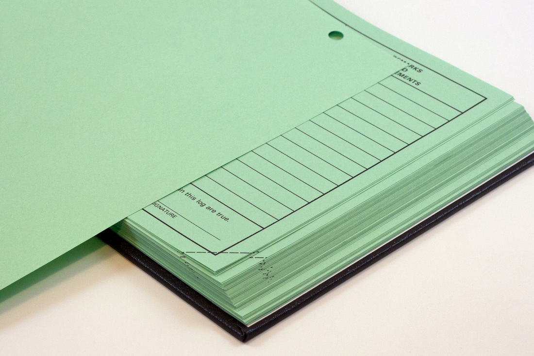 Green And Paper logbook solutions-paper - this holiday season, give thanks, and gift